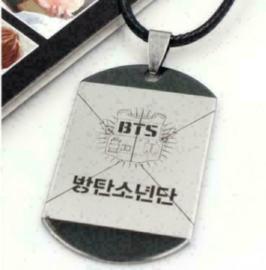 Kpop BTS Bangtan Boys Ketting Halsketting necklace Korea