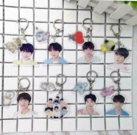 BT21 BTS Bangtan Boys sleutelhanger sleutelhangers Kpop