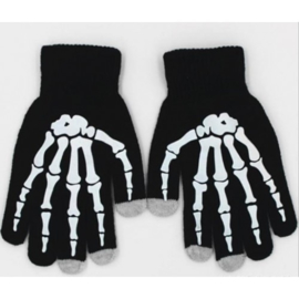 Skelet botten Touch Screen Handschoenen Cosplay Anime Gothic