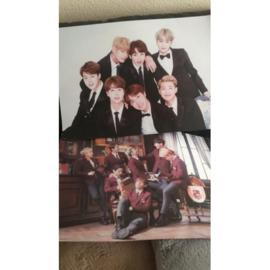 BTS posters poster kpop poster Korea bangtan boys B set