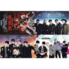 Koreaanse Korean Kpop Band Big Bang Posters Bigbang B set