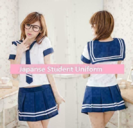 Japanse School Uniform Jurk Cosplay Meer Kleuren Kawaii Set