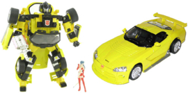 BTA-02 Sunstreaker Dodge Viper Junko 1:24 Transformers Binaltech Asterisk Takara