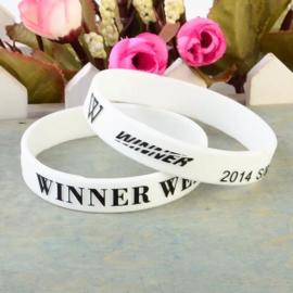 Witte Kpop WINNER weekend armband armbanden bracelet