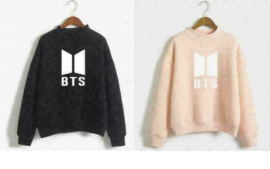 BTS Love yourself trui hoodie kleding kpop roze zwart