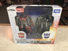 Takra Transformers United UN-27 Windcharger Vs Decepticon Wipe-out 2 Pack MIB