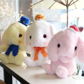Schattige Pote Usa Loppy Pastel Rabbit Plush konijn knuffel