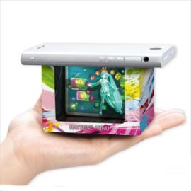 Bandai Hako Vision Set Hatsune Miku Japanese Palm-sized Hologram