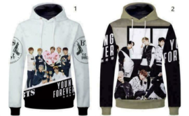 Kpop BTS Young Forever Hoodie Trui Vest Kleding Shirt