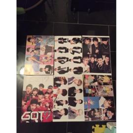 got7 GOT 7 posters poster kpop Korea C set