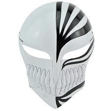 Bleach Kurosaki Ichigo Mask Cosplay Masker Zwart Wit