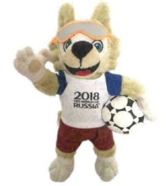 2018 FIFA World Cup Russia Mascot Zabivaka Knuffel pluche