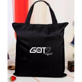 got7 Handtas Tas Shopper Schooltas Kpop Korea Korea