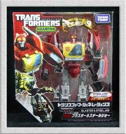 Takara Tomy Transformers Generations FOC TG-17 Blaster & Steeljaw TG17