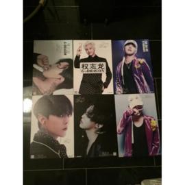 exo g-dragon posters poster kpop Korea A set