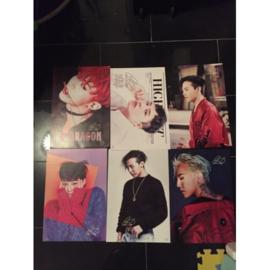 exo g-dragon posters poster kpop Korea E set