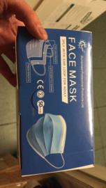 volwassenen volwassen diposable MEDICAL medische mondkapje mondkaps maskers mondmaskers mondmasker mondkapjes mondkaps 50 stuks