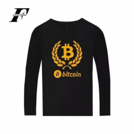 BTC cryptocurrency bitcoin cryptocoin shirt t-shirt kleding