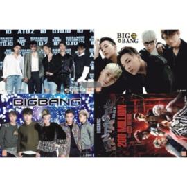 Kpop BIGBANG BIG BANG Posters Poster Korea koreaanse Muziek A set