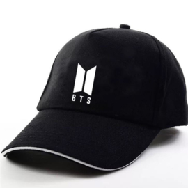 BTS Bangtan boys pet cap muts Korea zwart new logo ARMY