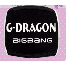 Big bang G-Dragon Mondkapje Mondkap Mouth Mask Gdragon Type 1
