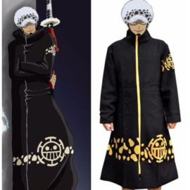 One Piece Trafalgar D Water Law Hoed Muts + Jas Poncho