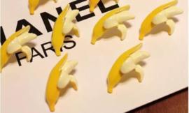 Japan harajuku banaan bananen oorbellen oorknopjes