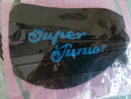 Super Junior zwarte mondkapje mondkap mondmasker mondmaskers maskers masker mondcap face mask face masker