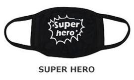 OV openbaar vervoer mondkapje super hero mondkapje opdruk print mondkap katoenen Herbruikbare wasbare zwarte mondmasker mondkapjes mondmaskers