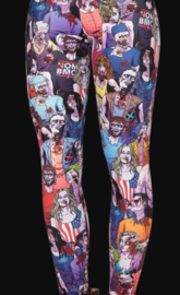 Gothic Zombi Bloed The Walking Dead print Legging