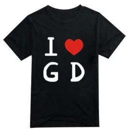 Big bang bigbang G-Dragon gdragon GD t-shirt shirt topjes