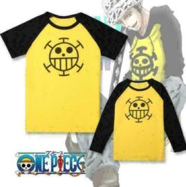 One Piece Trafalgar Law T-shirt Shirt Topjes Cosplay Kleding