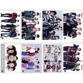 Kpop BIGBANG BIG BANG Posters Poster Korea koreaanse Muziek B set