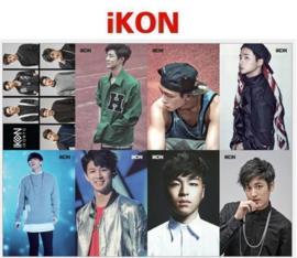 Kpop IKON poster posters Korea Koreaanse muziek groep