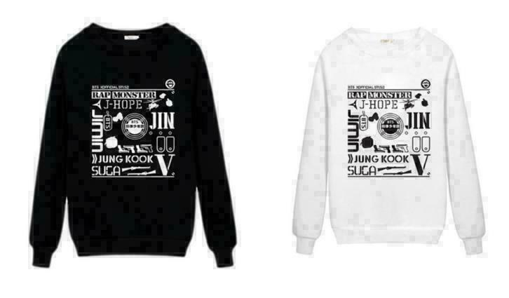BTS kpop Trui Shirt Kleding bangtan boys Korea KPOP
