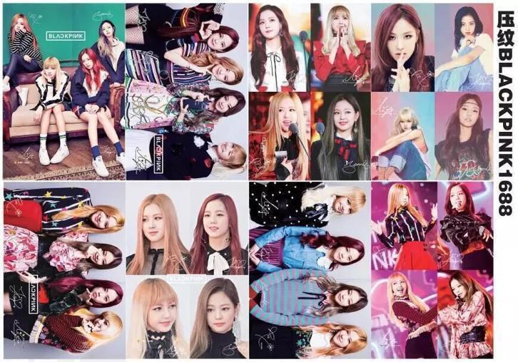 Kpop black pink poster posters