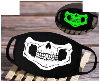 Skelet Skull Biker Hell mondkapje mondkapjes mondmasker mondmaskers volwassen en kindermaten