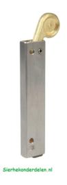 Vleugelpoort stopper Aluminium