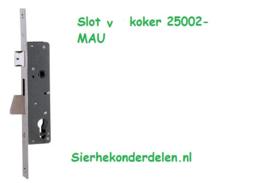SLOT VOOR KOKER 25002-MAU 40x40x2 mm