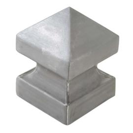 Paalkop hol  pyramide vorm voet 80x80