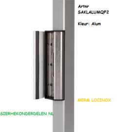 industriële verstelbare slotvanger SAKL QF ALUM Alumkleur