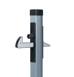 Poortvanger Under-Gate-Catcher Aluminium