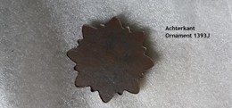 Ornament, Rozet 55 mm x 8 mm   1393J