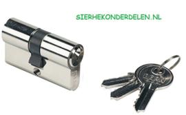 Cilinder met 3 sleutels voor H METAL WB Slot