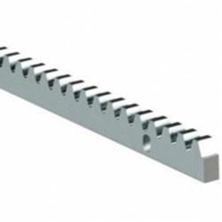 Tandlat elektrolytisch verzinkt 2meter Lang