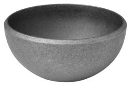 Schaal, halve bol 101,6  mm x 3 mm wanddikte