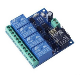 12V 4 Channel Wifi Relais Board
