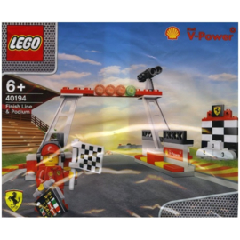 40194 Finish Line & Podium (Polybag)