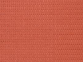 52416 Dakplaat roodbruin