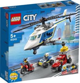 60243 Politie Helicopter Achtervolging
